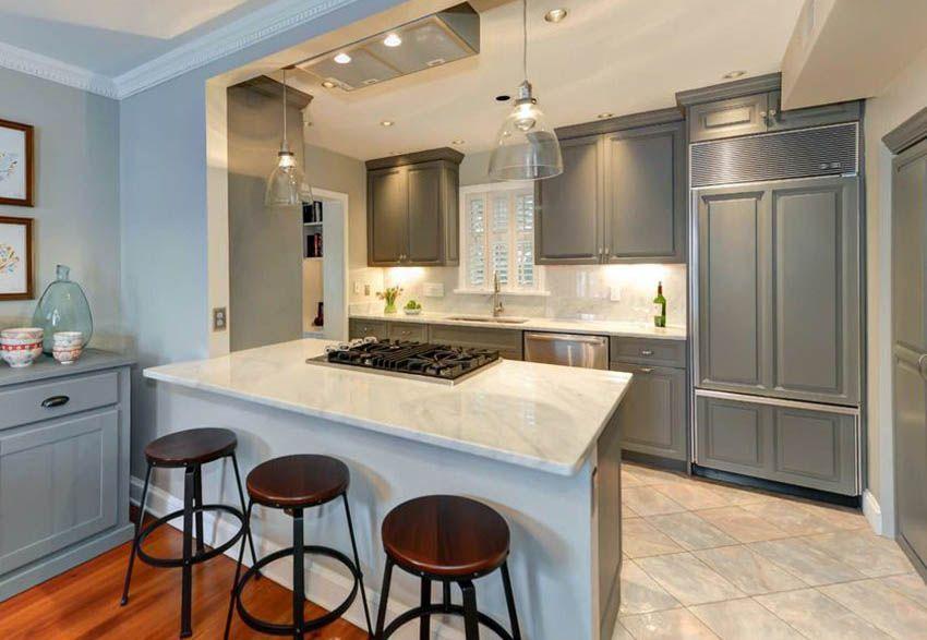 29 Open Kitchen Designs with Living Room | Kitchen design ...