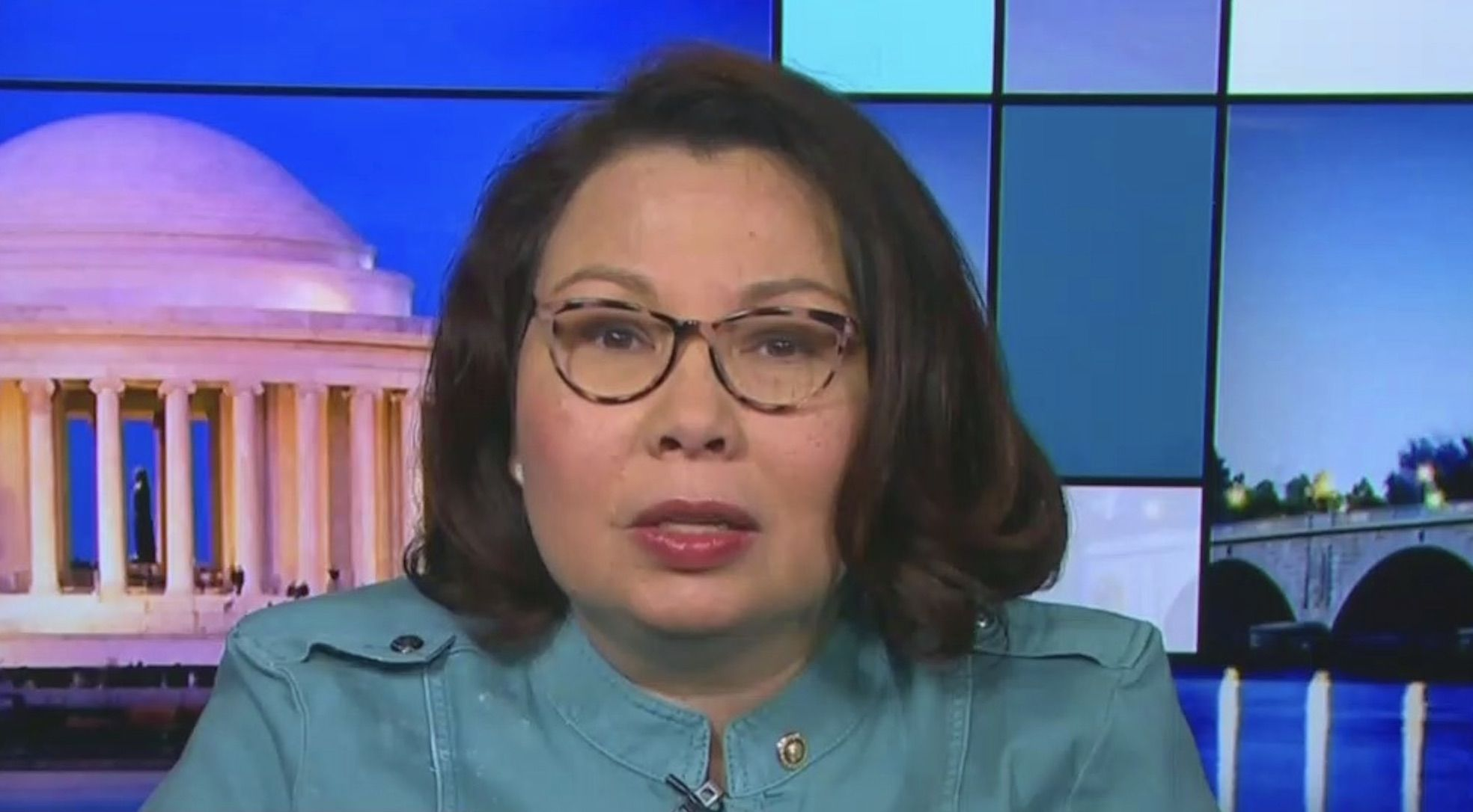 War Hero Tammy Duckworth Tears Trump To Shreds For