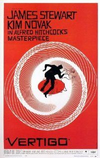 Vertigo - Hitchcock again, and Jimmy Stewart - lot of twists and turns in this one...