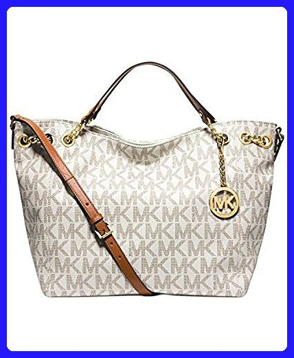 21ead3ab9c13 L Michael Kors Jet Set Chain Item Large Gather Shoulder Tote Vanilla -  Shoulder bags ( Amazon Partner-Link)