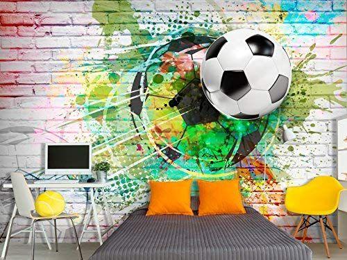 Murando Fototapete Fussball 400x280 Cm Vlies Tapete