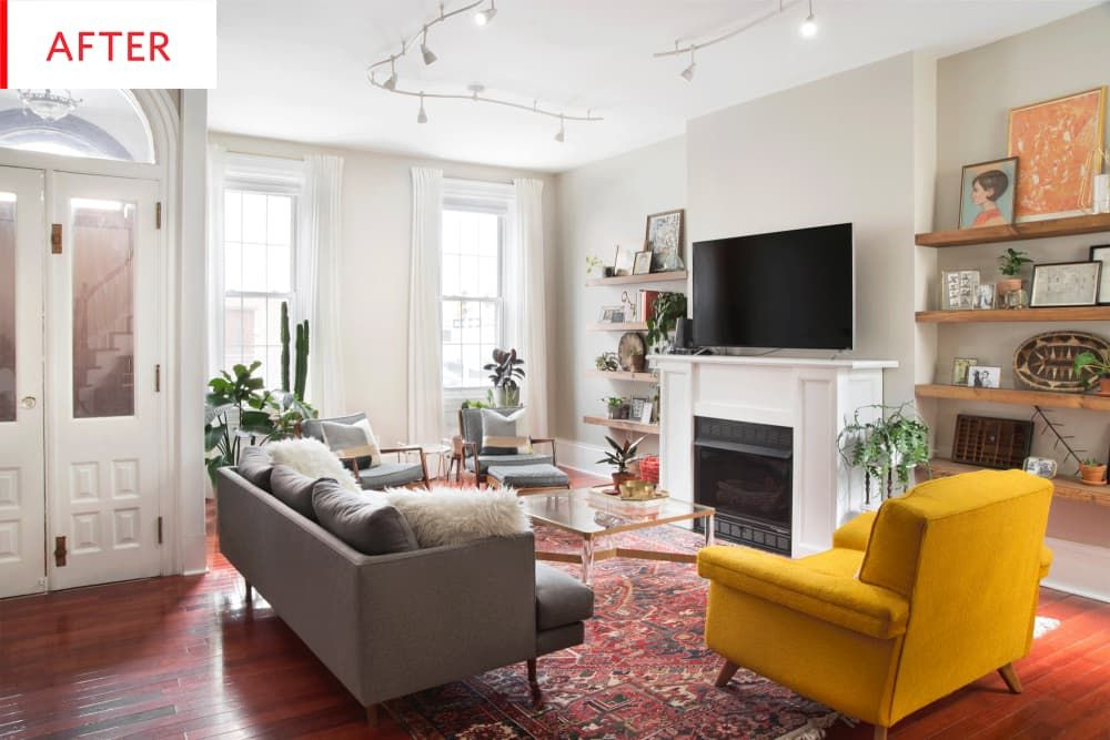 Before and After: We Can't Believe This is the Same Philadelphia Row Home images