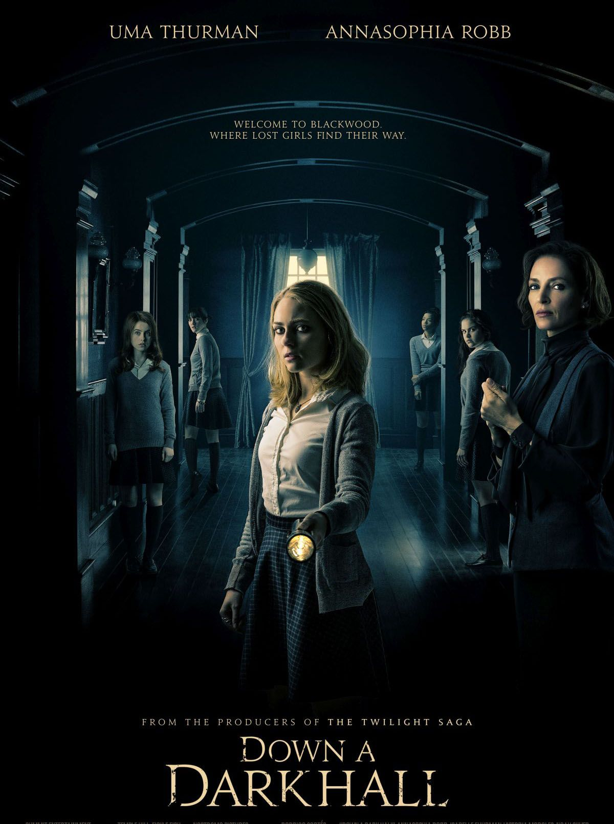 Trailer For Upcoming Horror Movie Down A Dark Hall