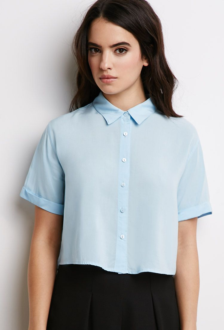 Shirts cropped how to wear