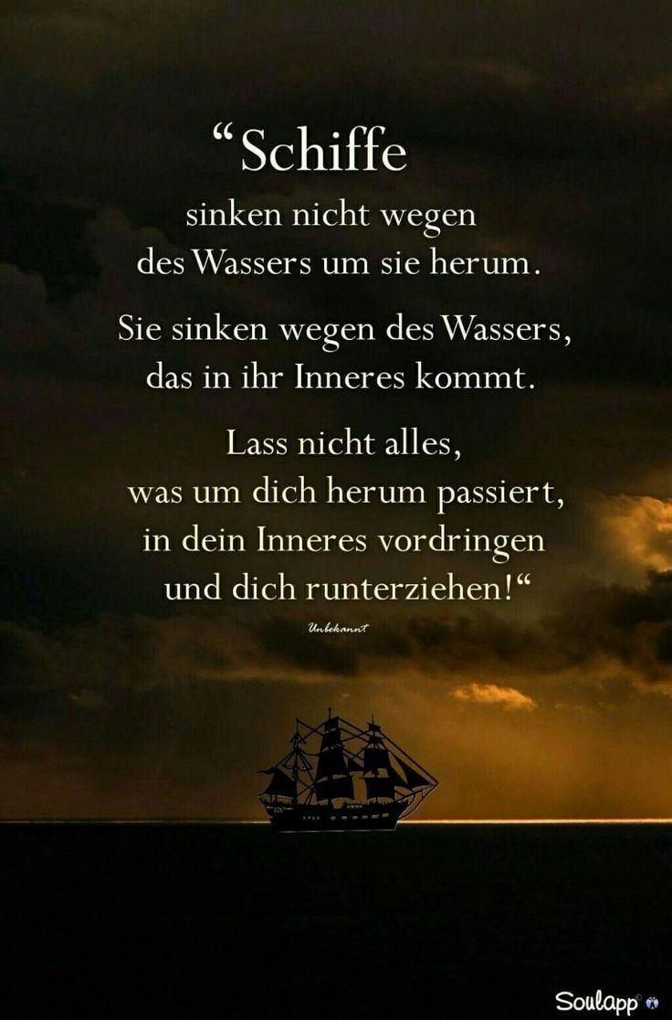Sprche und Zitate zum Nachdenken - #Nachdenken #Sprche # ...