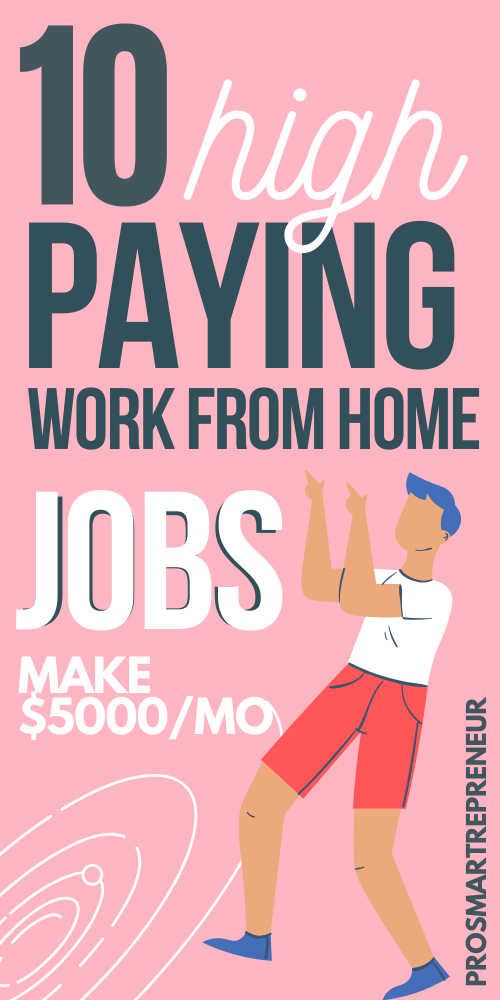 10 Best Work From Home Jobs For 2020 That Makes 5000 Monthly Work From Home Jobs Ways To Earn Money Legitimate Work From Home
