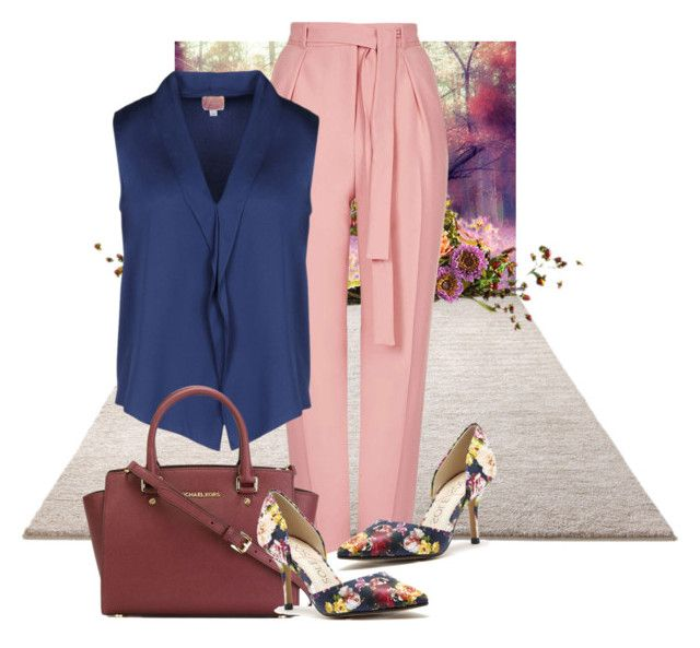"""""""elpmissimple"""" by bettypretty-ksa ❤ liked on Polyvore featuring moda, ESPRIT, Topshop, Armani Collezioni, MICHAEL Michael Kors e Sole Society"""