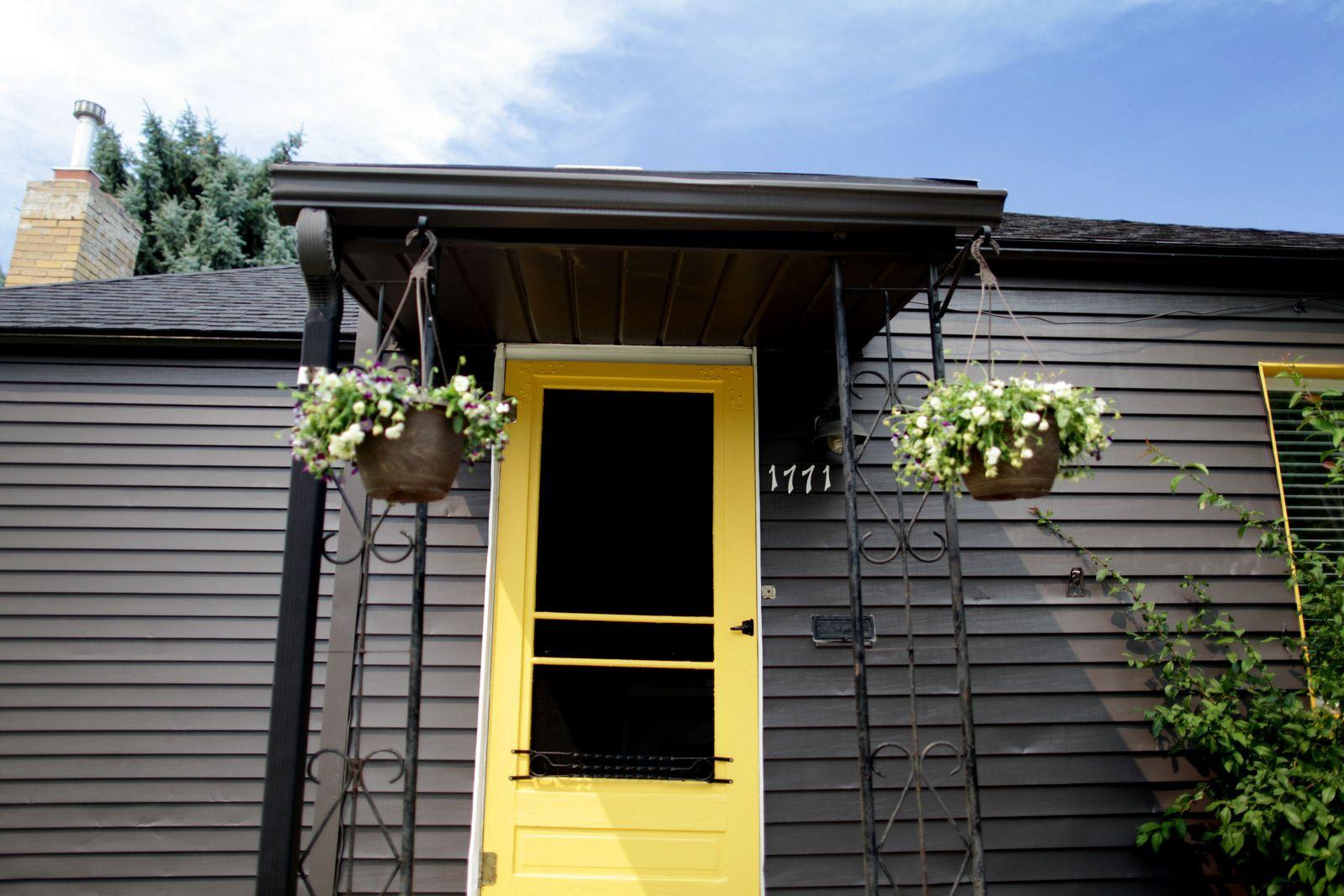 Super Yellow Door.