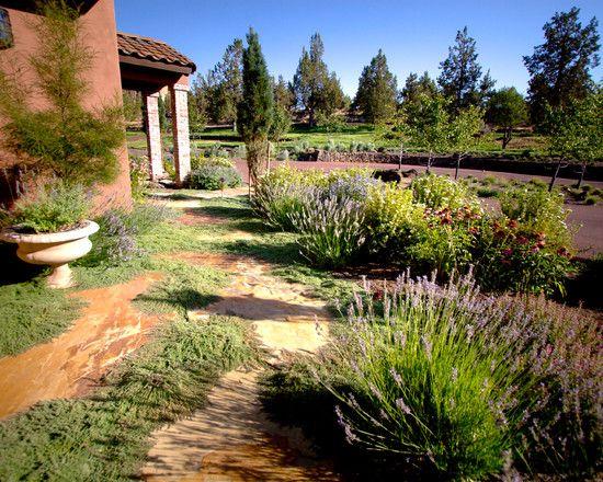 Mediterranean Landscape Tuscan Style Design, Pictures