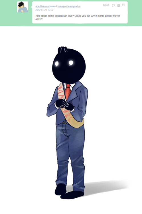 The Dapperest Of Looks For The Best Of Mayors Homestuck