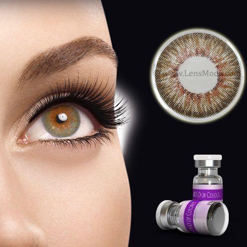 Blend Of Color Honey Colored Contact Lenses 27 95 Per