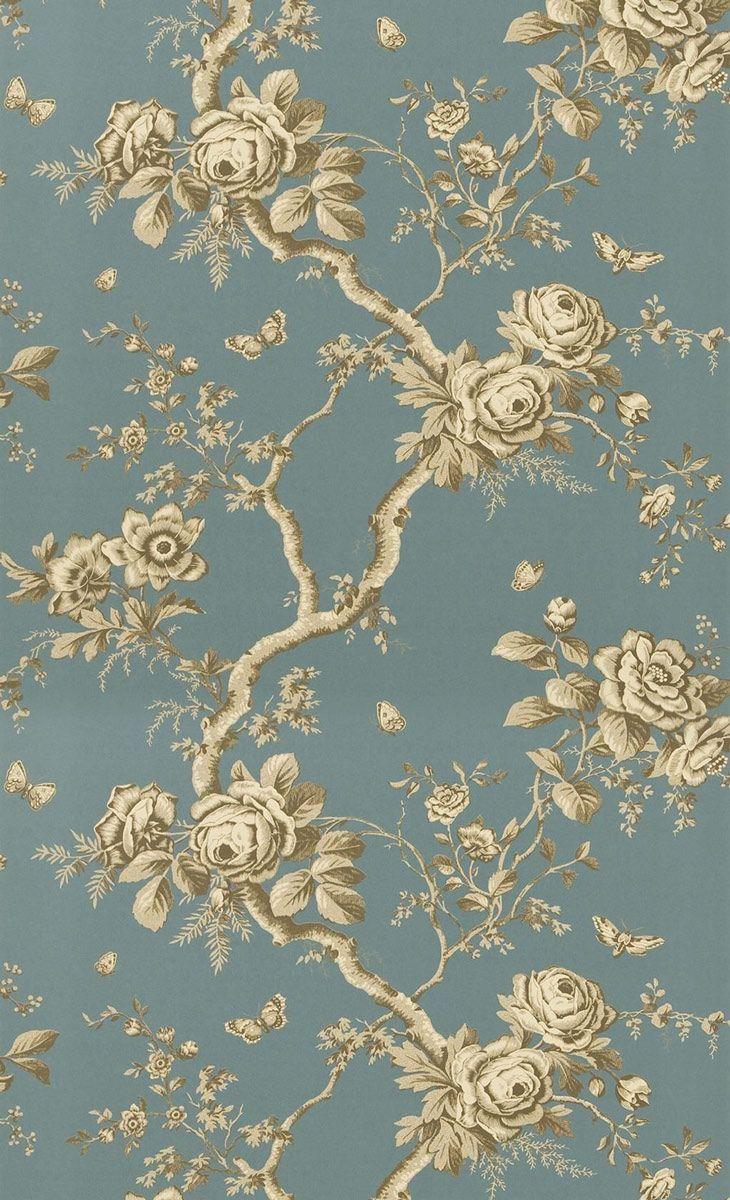 Papier peint Ashfield Floral - Ralph Lauren | Pinterest | Décoration ...