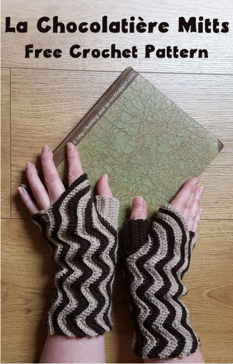 Knitting and so on: La Chocolatière Mitts | Guantes y manoplas ...