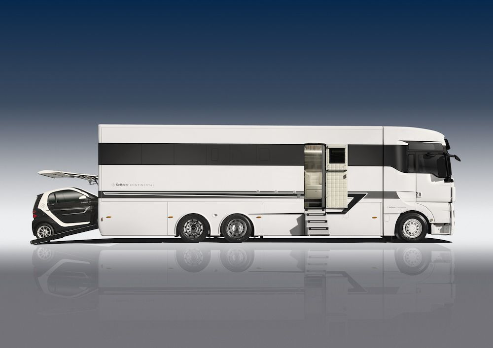 ketterer continental motorhome le camping car fa on luxe 700 000 cars. Black Bedroom Furniture Sets. Home Design Ideas