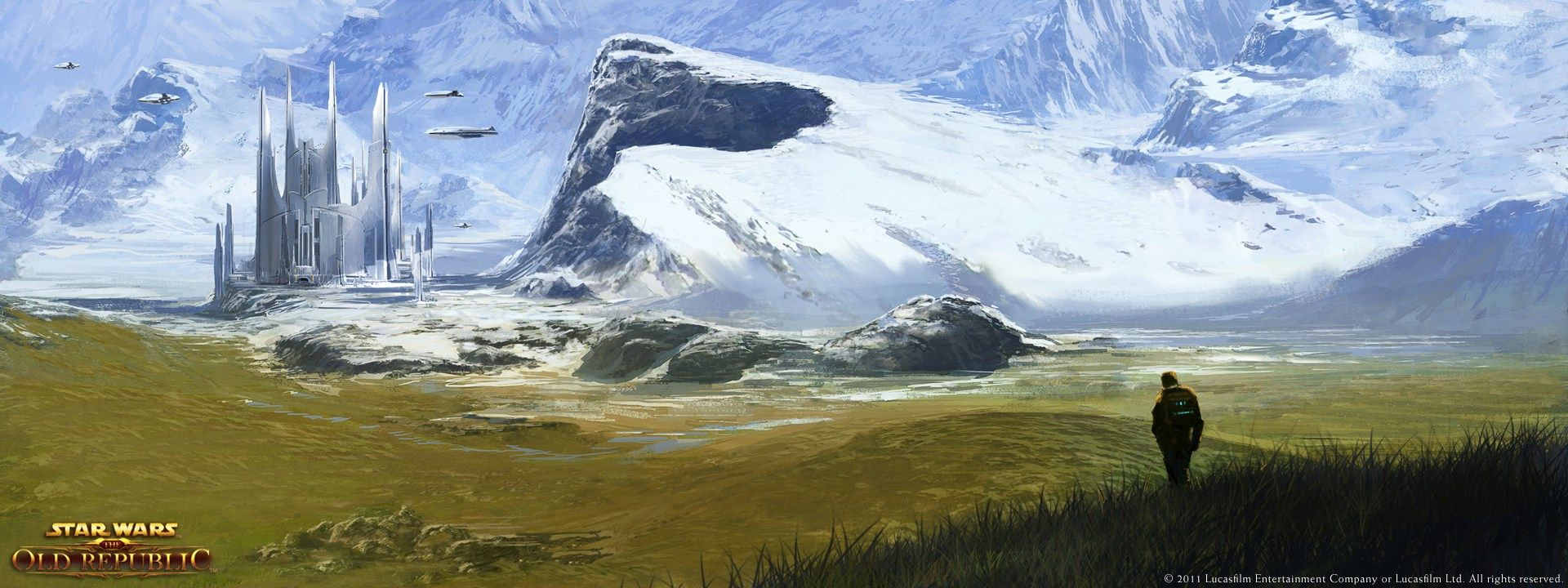 Alderaan Landscape Star Wars The Old Republic Swtor Vistalore