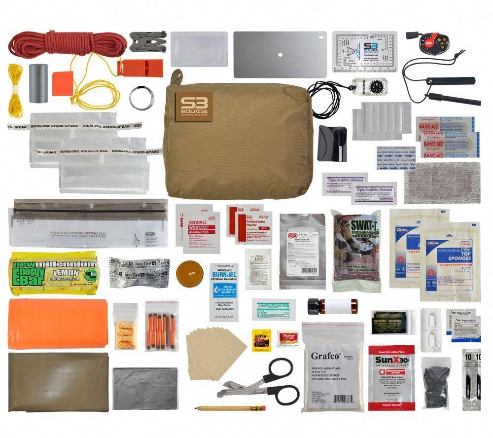 Hunter Mountain Survival Kit Solkoa Survival Systems Survival
