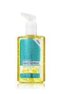 Bath Body Works Sugar Lemon Fizz Hand Sanitizer 7 6 Oz By Bath