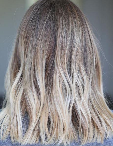 Bronde To Blonde Color Melt Hair Color In 2019 Dark