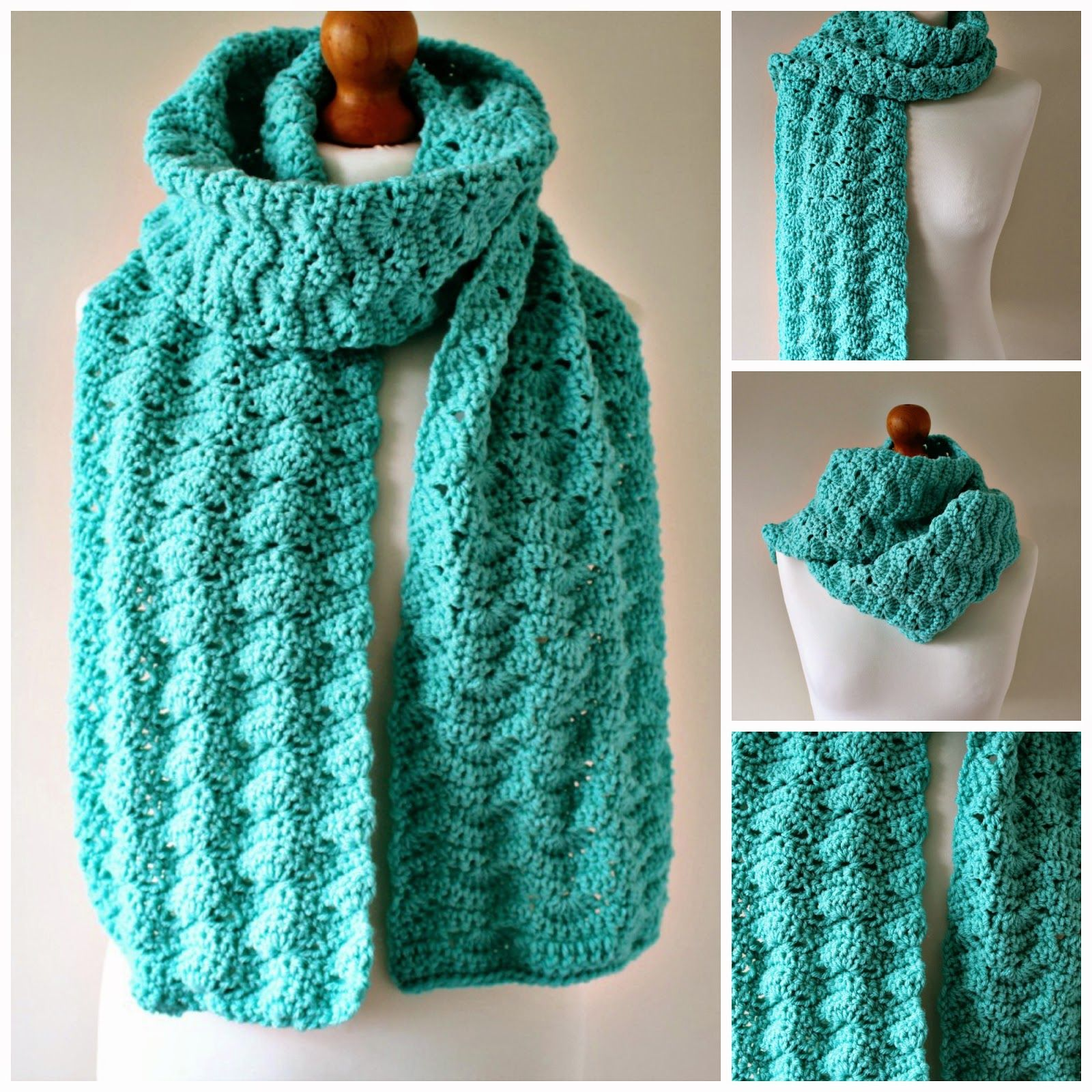 Freya Esme Crochet: Crochet Chunky Scarf Pattern - Katie   Häkeln ...