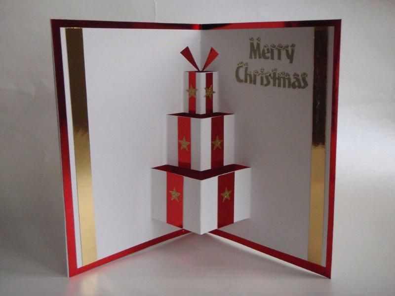Diy pop up christmas card cards christmas greeting cards and diy pop up christmas card m4hsunfo Images