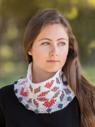 Free Crochet Warmhearted Cowl Pattern Featured In Season 8 Of Knit