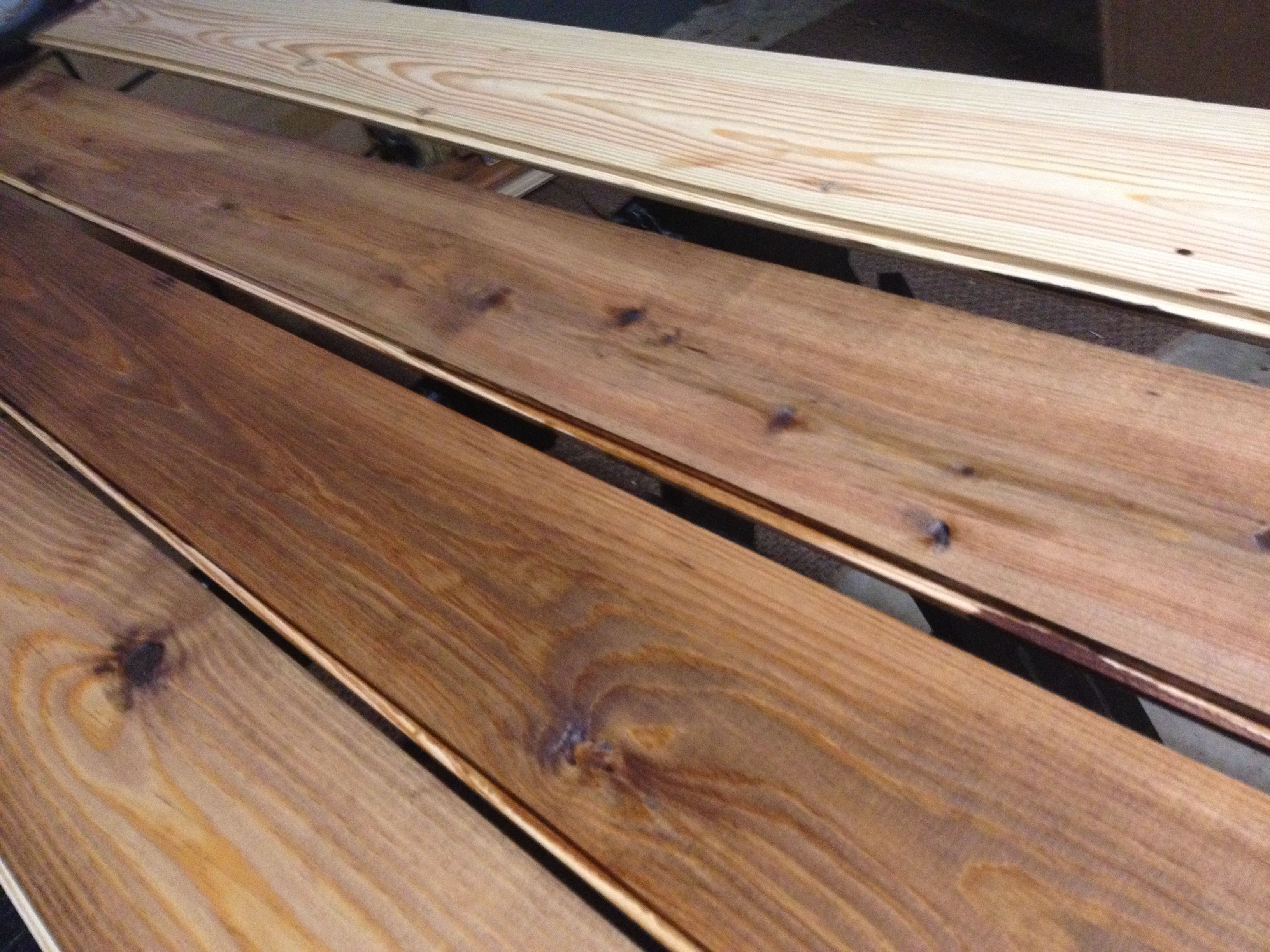 Staining Southern Yellow Pine Flooring