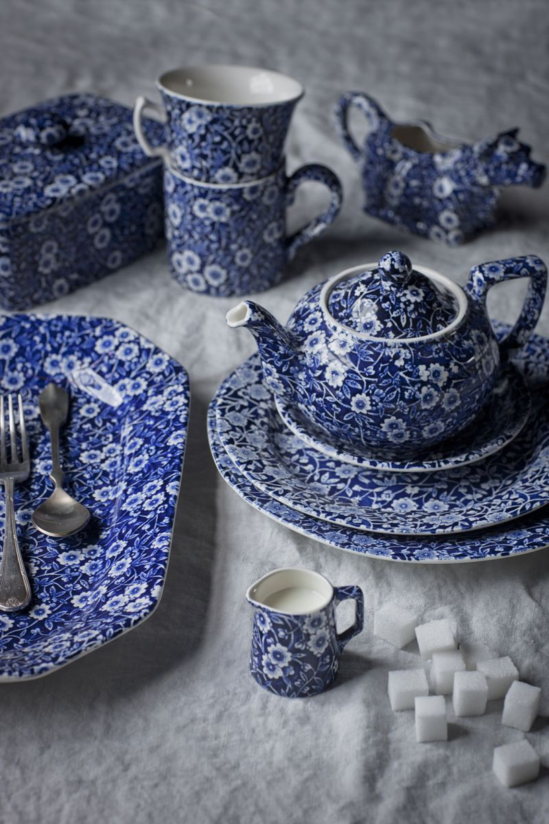 The History Of The Calico Pattern. Table ware and tea ware for the modern home & The History Of The Calico Pattern. Table ware and tea ware for the ...
