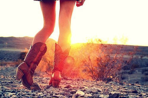 cowgirl boots <3