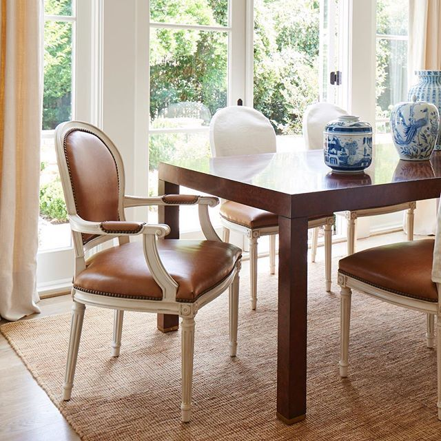 A home should be fortable inviting collected and most importantly BEAUTIFUL Ft the mdsandhenredon Bel Air Parsons Dining Table and St Pierre