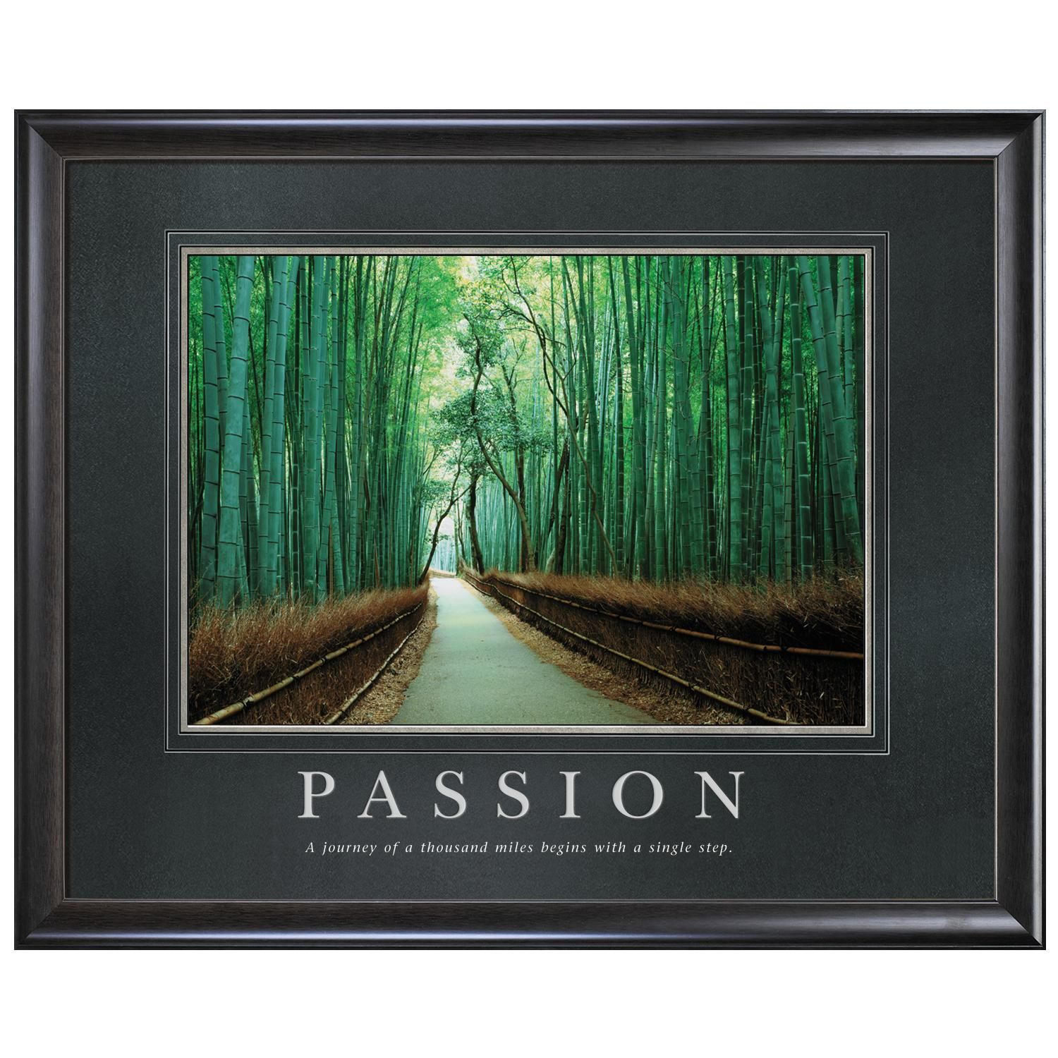 office inspirational posters. Classic Motivational Posters By Successories - Passion Bamboo Path Poster Office Inspirational