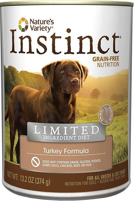 Nature S Variety Instinct Limited Ingredient Diet Turkey Formula Canne Dog Food Recipes Canned Dog Food Best Dry Dog Food