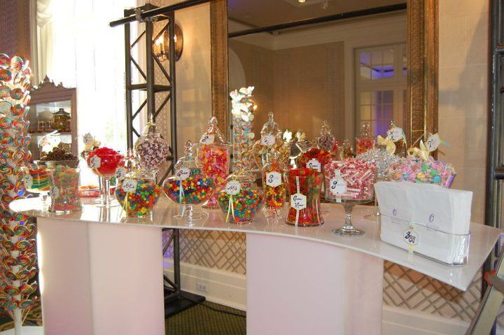 Charity Event Buffet Tables