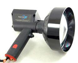 This Lightweight Ultra Rugged Ergonomic Handheld Hid Magnalight Spotlight Operates On 12 Volts Or 24 Volts Dc And Can Light Beam Handheld Spotlight Hid Bulbs