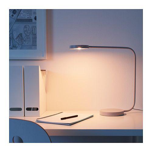 Ypperlig Led Table Lamp Light Gray Ikea Led Table Lamp Table Lamp Lighting Ikea Table Lamp