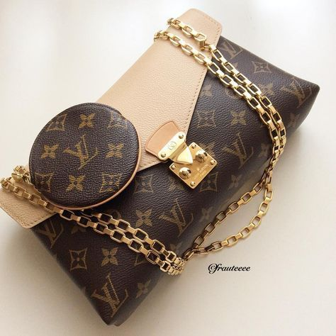 240e52ea9507 Louis Vuitton chain straps for more ⚡ ❣ Follow my daily z to stay on of the  ÊVERŸTHÎÑG ❤ Chanel Monroe