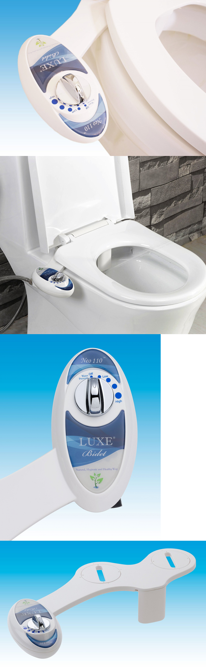 toilet bidets and toilet attachments