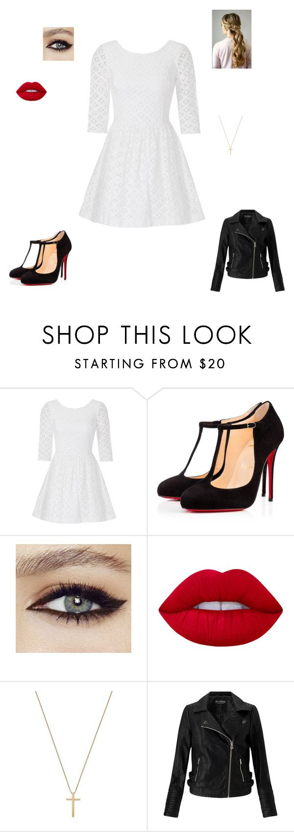 """""""Meeting Connor"""" by maryvarleyrox on Polyvore featuring Lilly Pulitzer, Christian Louboutin, Lime Crime, Gucci and Miss Selfridge"""