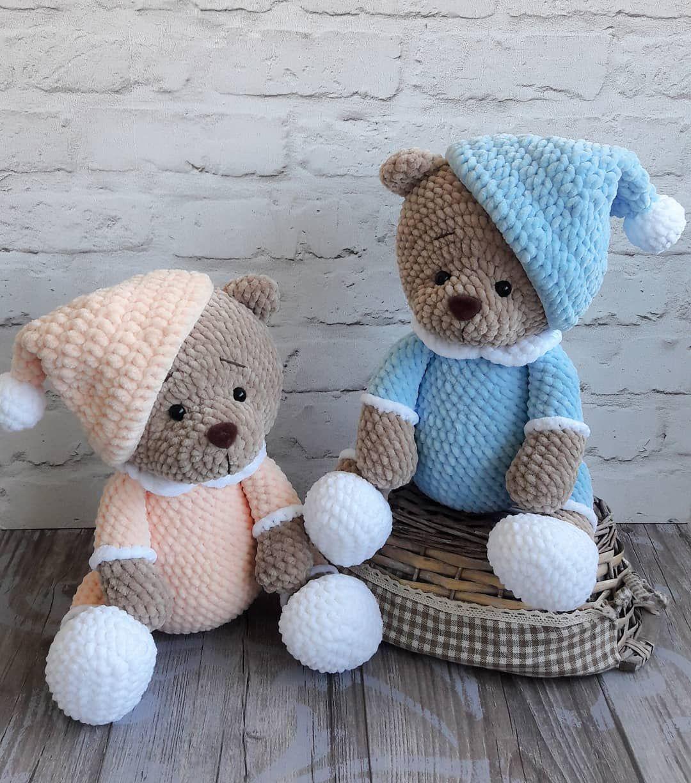 Pdf плюшевый мишка соня Free Amigurumi Crochet Pattern бесплатный