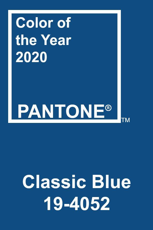 Pantone of the Year 2020 - Classic Blue #pantone