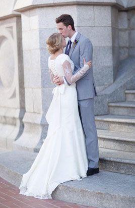 Modest Wedding Dress For Rent Lehi Utah Gownsbypamela Modest Wedding Gowns Modest Wedding Dresses Modest Wedding Dresses With Sleeves