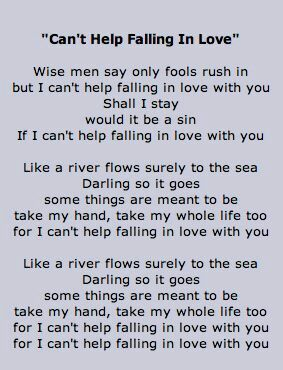 Elvis Presley Great Song Lyrics Elvis Presley Lyrics Elvis Lyrics