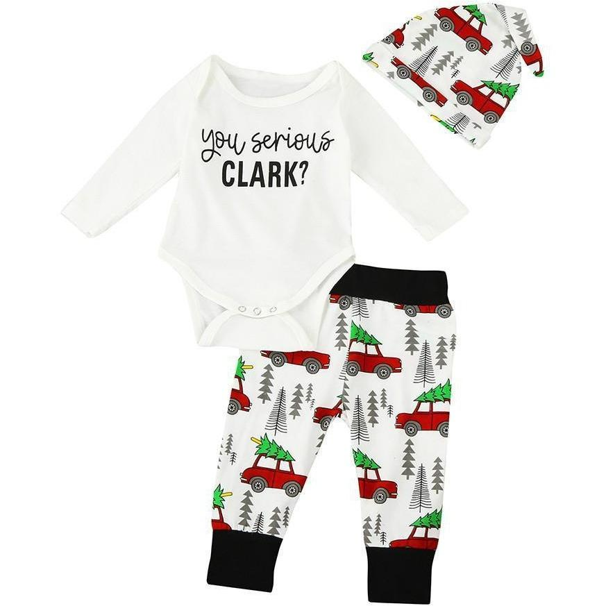 f95cae186 You Serious Clark Onesie Set. You Serious Clark Onesie Set Babies First  Christmas ...