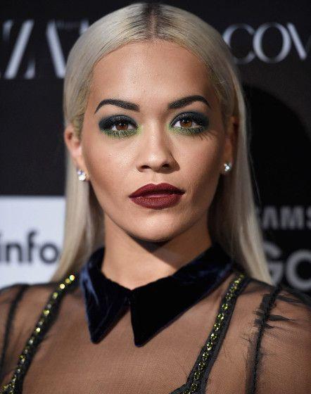 Rita Ora Transforms From Pretty Pop Star To Sultry Siren Dark Lipstick Rita Ora Sultry