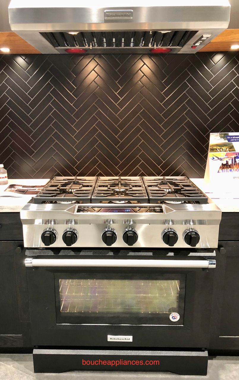 KitchenAid new line of professional ranges showcasing new ...