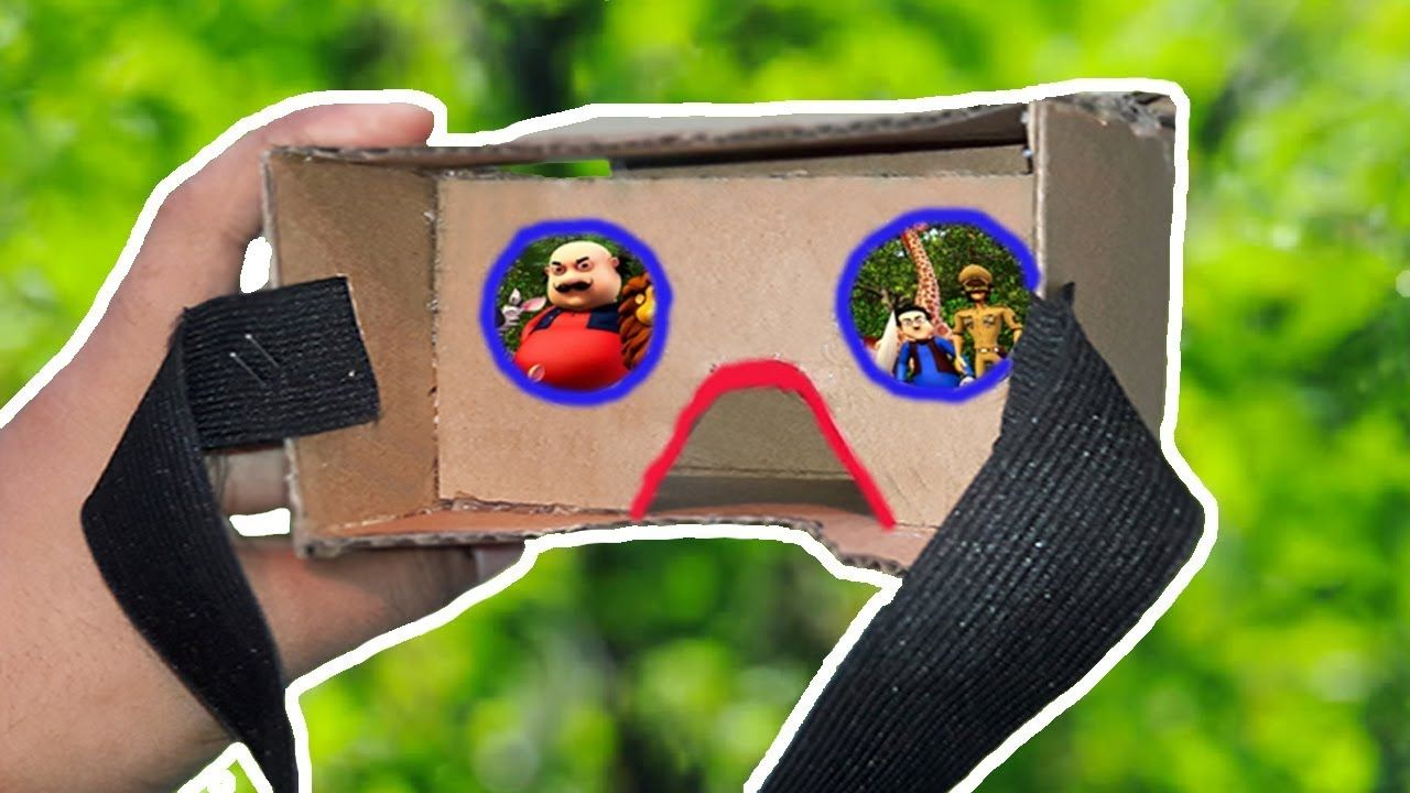 How to make a Smartphone Virtual Reality at Home