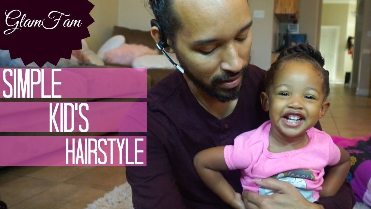 Childrenus easy banded hairstyle youtube easy hairstyles