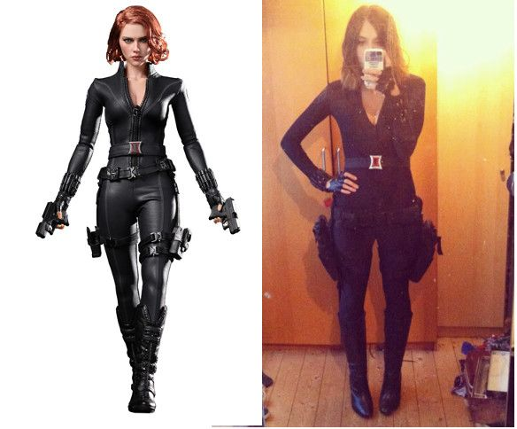 Black Widow Costume Tutorialsredheaded Seamstress Black
