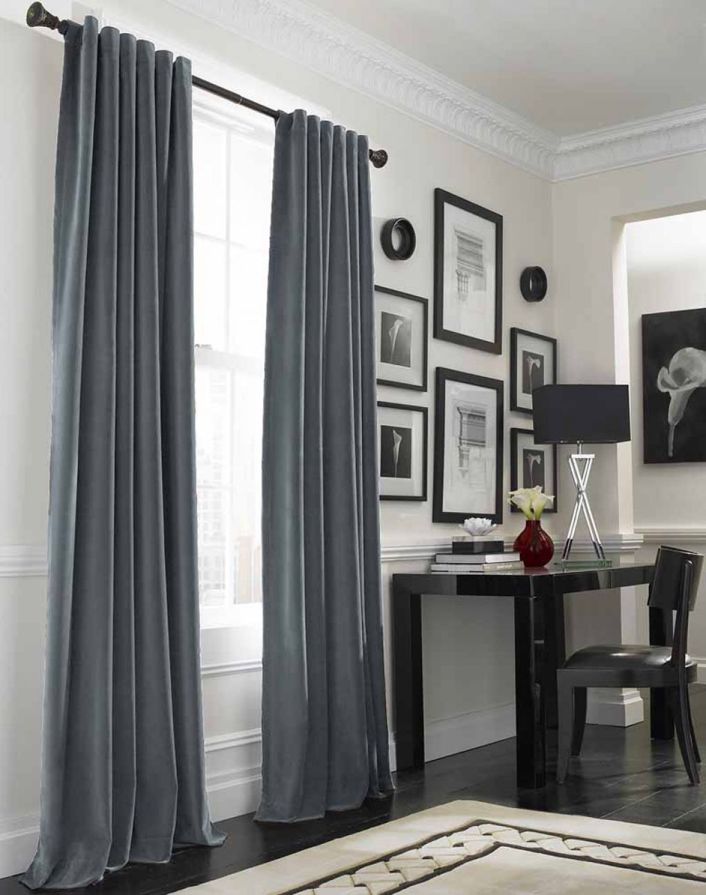 Grey curtains curtainsideasfornursery curtains ideas for nursery