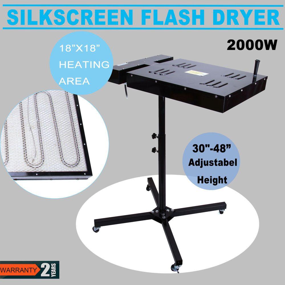 """18/""""X18/"""" Flash Dryer Silkscreen Curing Garments T-Shirt Screen Printing"""