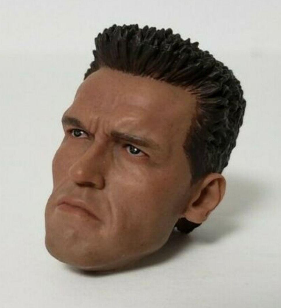 1//6 scale The Terminator Arnold Schwarzenegger T-800 Head Sculpt